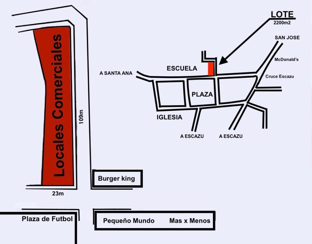 Oportunidad Venta Comercial Esquinero Cruce Escazú