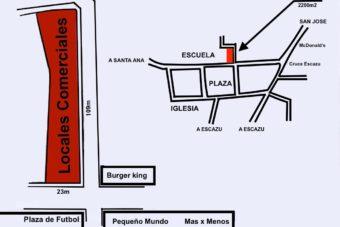 Oportunidad Venta Esquinero Comercial Cruce Escazú